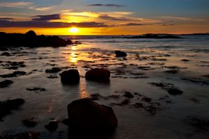 Cable Bay Sunset 2