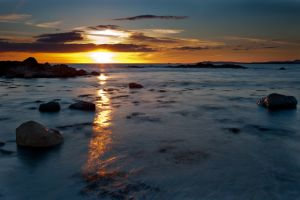 Cable Bay Sunset 3