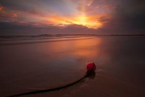 Sunset Buoy Rays