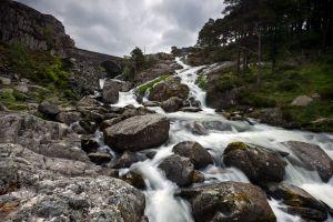 Waterfall off Llyn Ogwen