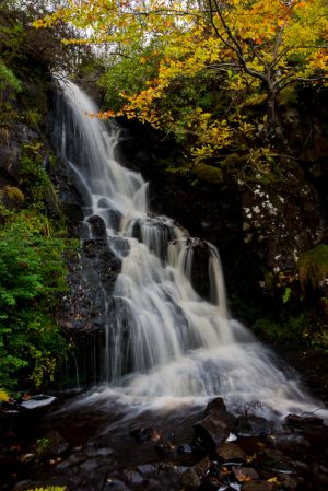 Dunvegan Castle Waterfall