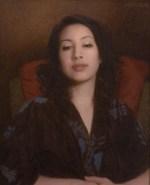 """Girl in a Kimono, ©2012 By Adrian Gottlieb Oil on Belgian Linen Size: 16"""" x 20"""" S. R. BRENNEN GALLERIES"""