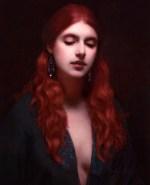 Lucretia, ©2015 By Adrian Gottlieb Oil on Belgian Linen Size: 18″ x 24″.  T.H. Brennen Gallery