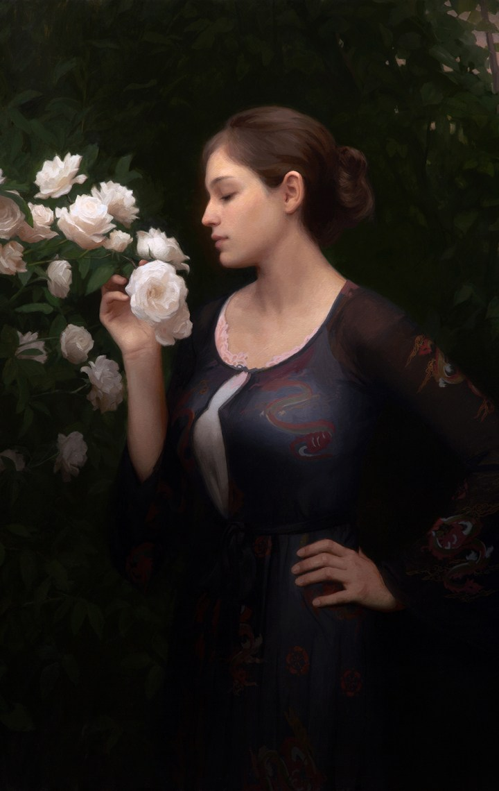 adrian gottlieb gallery - morning roses