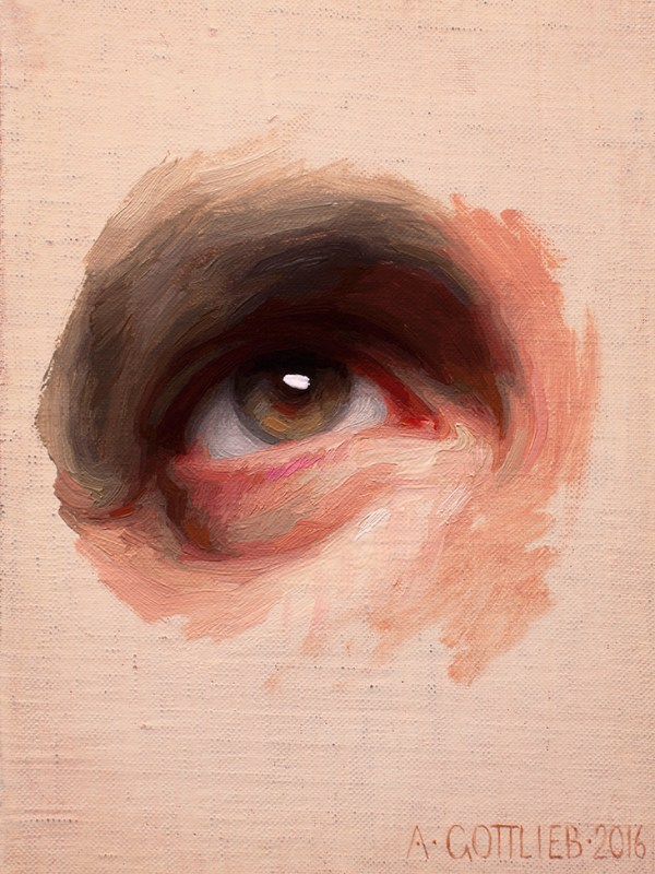 Original Eye study by Adrian Gottlieb