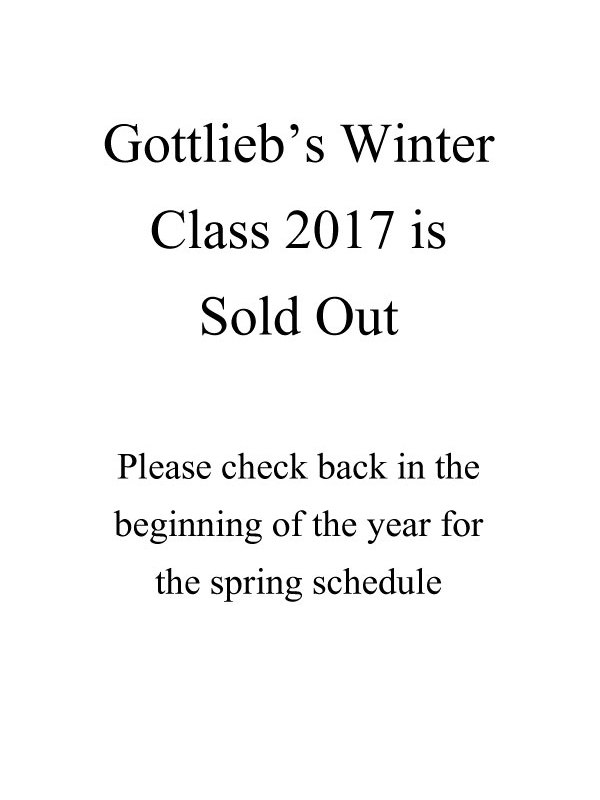 Winter Class 2017 is sold out