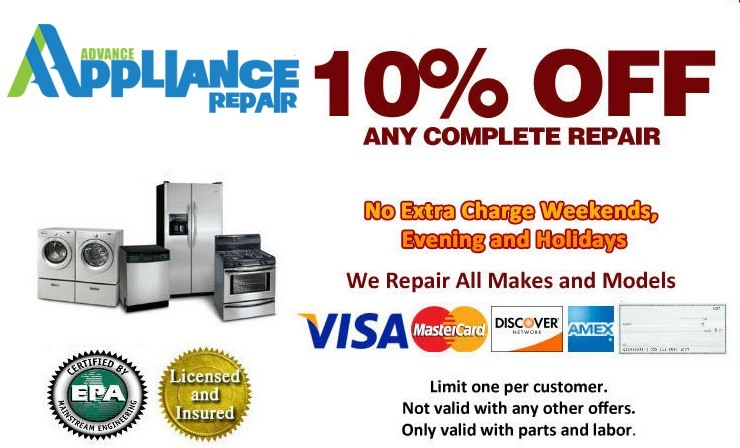 apppliance service coupon
