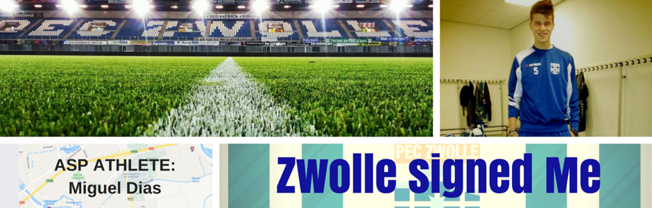 Miguel Dias South African soccer player signed Pec Zwolle