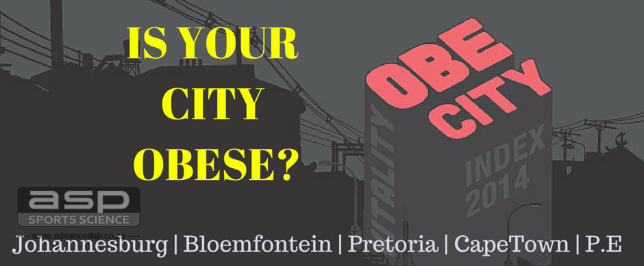 Is your South African City Obese Ref:Discovery Vitality Index
