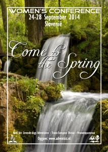 Come to the Spring-Vrouwen Conferentie