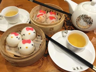 Hong Kong Food:  Hello Kitty Dim Sum