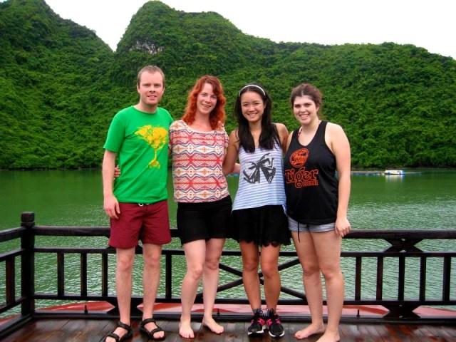 Visiting Halong Bay, Vietnam