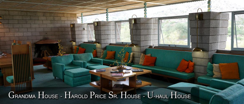 Grandma House - Harold Price Sr. House - U-Haul House