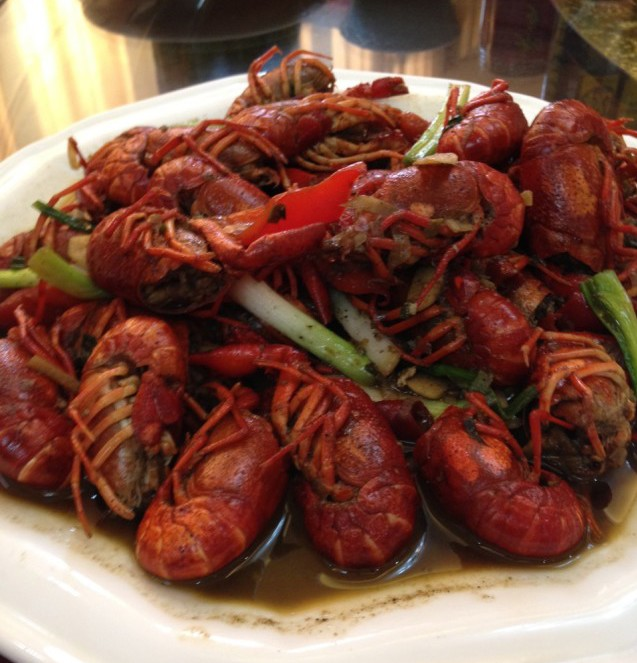 crawfish China
