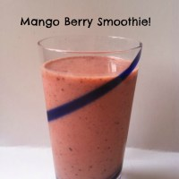 Mango Berry Smoothie!