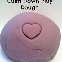 Calm Down Playdough Recipe