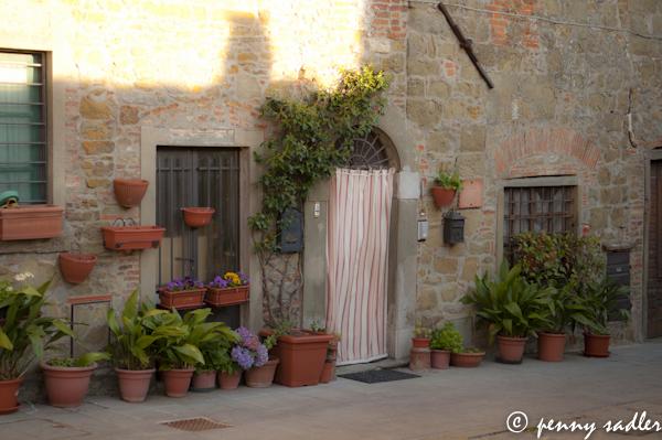 Beautiful doorway Chianti Italy @PennySadler 2013