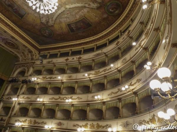 A Walk Around Cesena, Cesena, Teatro Bonci, @PennySadler 2013