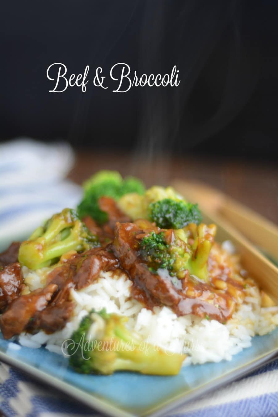Better than take-out Beef and Broccoli