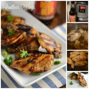 Rootbeer Chicken Wings