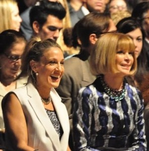 Fashion Week Spring 2010 Narcisco Rodriguez, Sarah Jessica Parker & Anna Wintour sneak peek