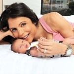 bethany frankel with her baby