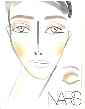 Fashion Week Backstage Beauty: NARS for Helmut Lang Fall Winter 2013 @helmutlang @NarsAssist @ #fashion
