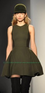 timotimo weiland model bell shaped green dressmarked