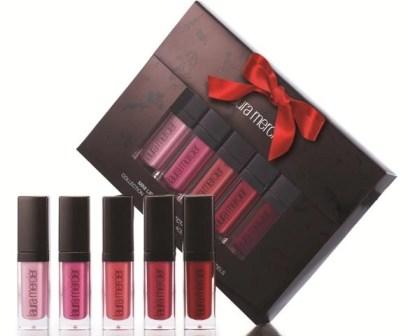 laura mercier Mini Lip Glace Collection - Bold Brights