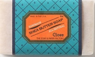 soap and paper close