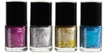 nordstrom metallic mini nail set
