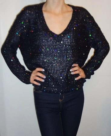 rd style sequin sweater