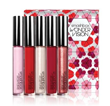 smashbox wondervision lip gloss set