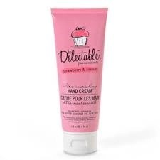 be delectable hand cream strawberry