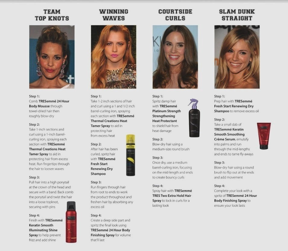 TRESemme styling products do a lot, for less