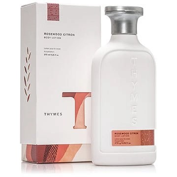 thumes body lotion rosewood citron