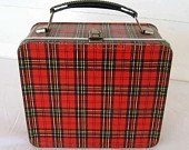 lunchbox plaid