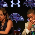 janay and ray rice press conference