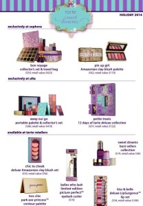 Tarte it up for the holidays @tartecosmetics #Tarte, #Beauty, #Holiday