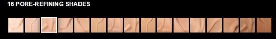 foundation shades maybelline