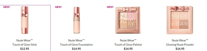 nude wear foundation and nude powder