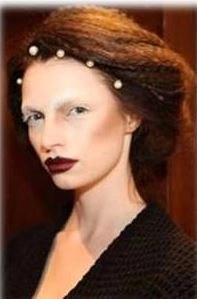 fashion week runway beauty get the look:  SAUNDER