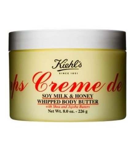 kiehls creme de corps soy milk & Honey whipped body butter