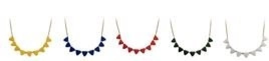 bandera necklace group