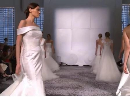 Video 1st look @RitaVinieris romantic Spring/Summer 2016 collection for Rivini!