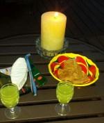 Limencello for cocktail hour at Dunhamnia