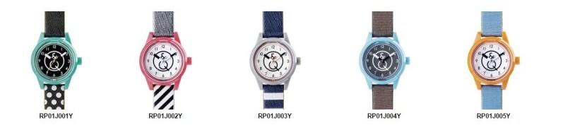 Q&Q smile solar watches mini series