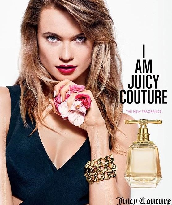 Behati Prinse I am juicy couture ad