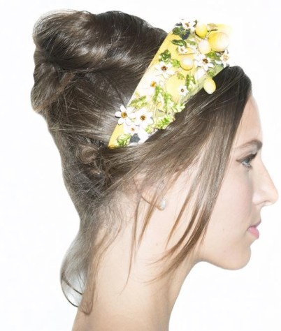HAIR LOOK DOLCE AND GABBANA SS 2016