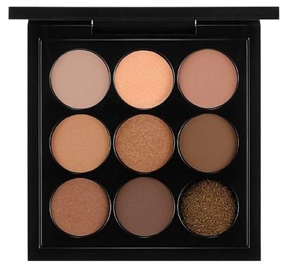 amber palette X 9 from MAC